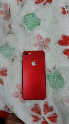 Iphone 7 red colour 128 gb