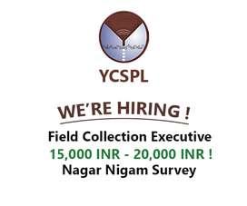 Hiring for field survey work- Rehne ki bhi suvidha- Location Gurgaon