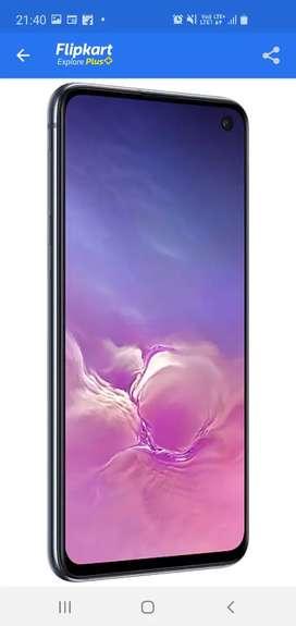 Good condition mobile Samsung s10 e prism black