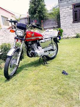 Honda 125 special addition  for cell