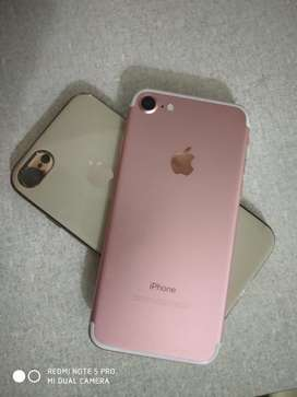 Iphone7 128gb rose gold with 100% health