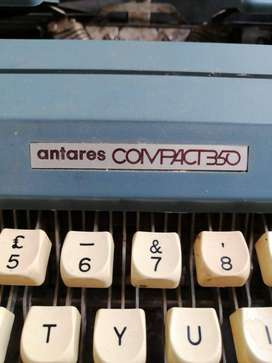 1960 antique antares portable  typewritter for sale