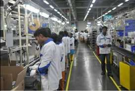 Job in manufacturing company