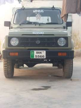 POTOHAR JEEP 2005 IN LUSH CONDITION AT SUI GAS FIELD