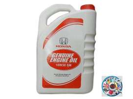 Honda GENUINE engine oil 10W30 SM 3.7L