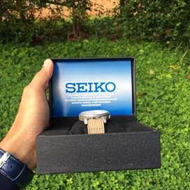 Seiko 5 Automatic warna Cream