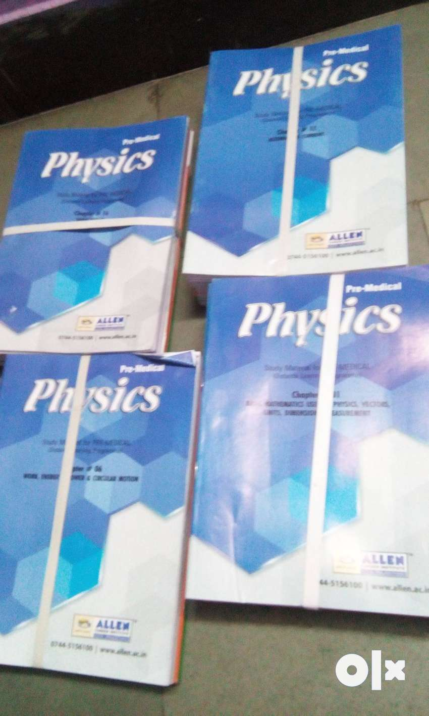 Allen Dlp For Medical / Neet COMPLETE PCB With phy chem Solutions Only 0