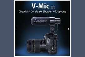 Di jual Aputure V MIC D1 Shotgun Microphone.