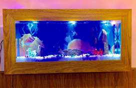 Beautiful New Stylish LCD Fish Aquarium with Free Home Delivery.