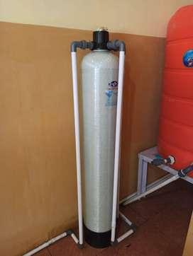 Filter Air Sumur Bor keruh berkarat berbau