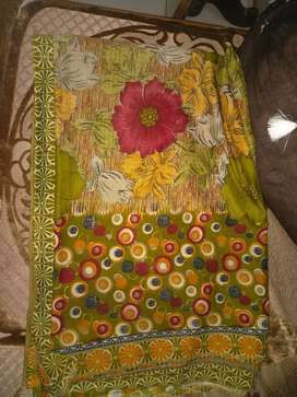 Synthetic saree