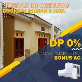 Dijual Rumah DP 0% Tipe 40/70 Dekat Stasiun Cibitung Bebas Banjir