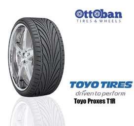 Ban Toyo proxes T1R ukuran 215/45 R17 bisa untuk Avanza Etios Freed