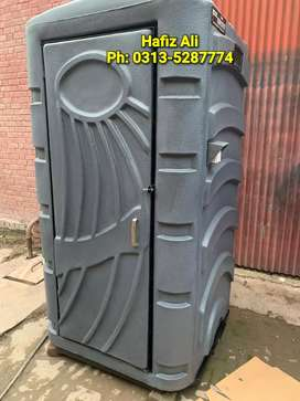 Portable toilet mobile cafe security guard cabin porta cabin container