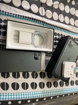 Iphone 11 Pro MAX 512 GB Midnight Green Brand New Condition