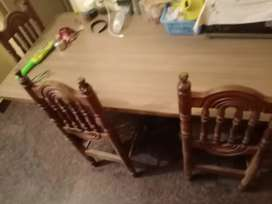 Dining table and sofa set for sale