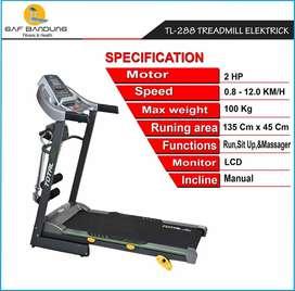 Treadmill Elektrik 3 Fungsi Total Motor 2Hp