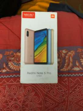 Redmi Note 5Pro without any scratch / dent 4GB RAM/ 64GB