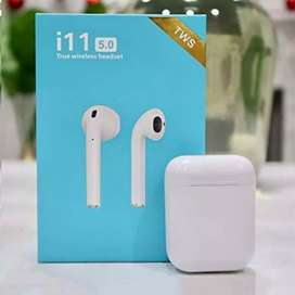 Twin True i11 Wireless Touch Sensor 5.0 Bluetooth Earbuds Airpods