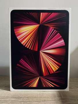 Ipad Pro 11 inch 2021 Space Grey 256Gb plus Magic Keyboard  Masih Baru