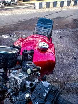 Yamaha cafe racer modified bike