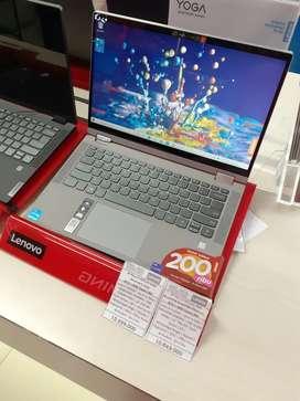 Bisa kredit laptop lenovo ip flex 5 14ITL05 C9ID. Solo