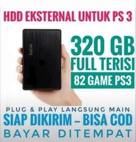 HDD 320GB FULL 82 GAME PS3 KEKINIAN Terjangkau Mrh Mantap Siap Dikirim