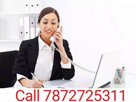 Female Reception and Fornt office Requirement