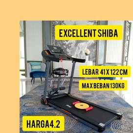 promo treadmill elektrik shiba hG-844 electric tredmil