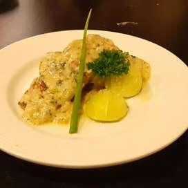 Continental Italian chef
