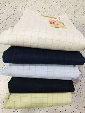 Mens cotton checks pant only for wholesale nor