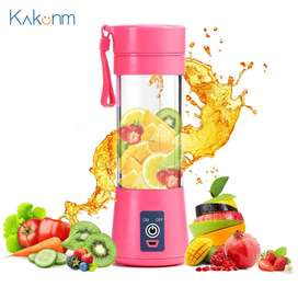 Portable Electric Juicer 380ML Wireless Fruit Extractor Automatic Mult