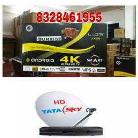All sizes available get any 1 led any size free HD Tatasky connection