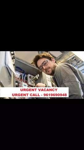 urgent vacancy electrician