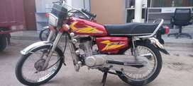 Honda 125   Exchaing possible