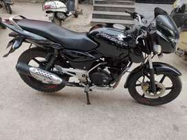 Pulsar 150 Dtsi black colour single owner no insurance