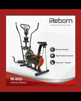 sepeda statis alat fitnes gym alat olahraga