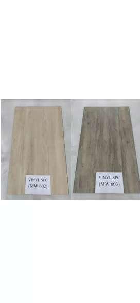 vinyl spc / lantai kayu spc 4 mm
