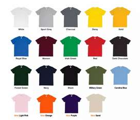 Kaos design bebas murah