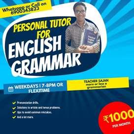 Tution for grammar