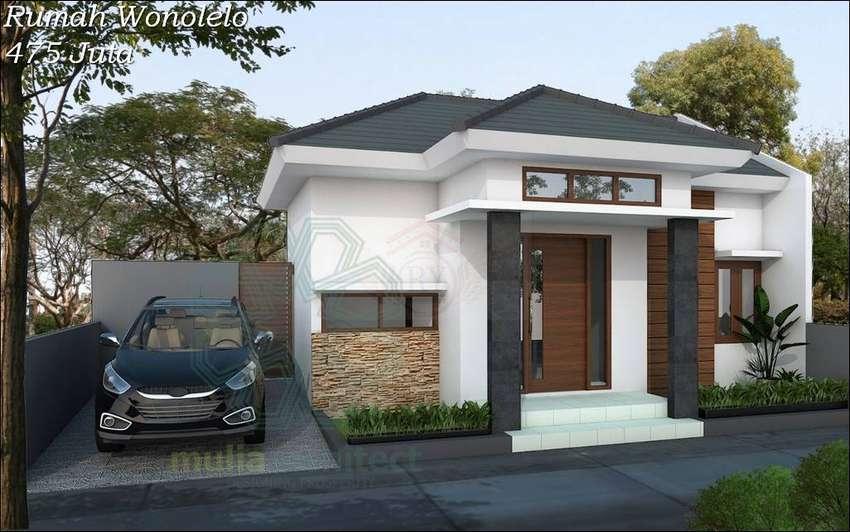 Rumah Murah di Wonolelo Ngemplak Sleman, Dijual Rumah Proses B 0