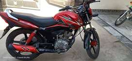 Honda delux zero condtion red colour special addtion