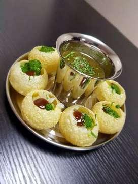 We want Panipuri,ragdapuri,chatmaker(Boy)