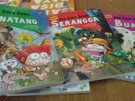 Buku Aku Suka Sains Bumi Binatang Serangga Comic Buku Anak BIP
