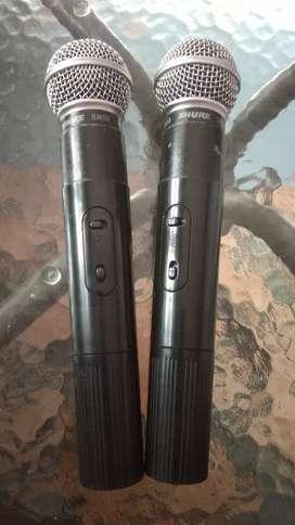 Mic Shure Wireless