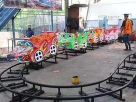 Kereta lantai mini coaster Mainan eskavator beko keruk capit dcn