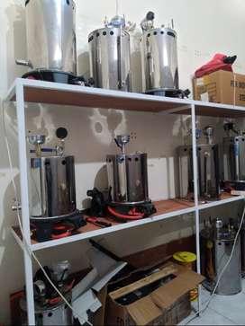 Toko Setrika Uap Boiler Gas Laundry Konveksi
