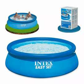 INTEX 28130 (size:12ft/30inc) round easyset swimming pool for summer.