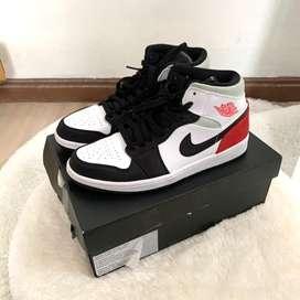 Nike Air Jordan 1 MID SE Union Black Toe