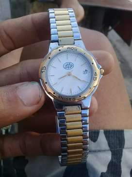 Jam piere holding 18k gold electro  plated